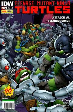 Copertina TEENAGE MUTANT NINJA TURTLES n.28 - TEENAGE MUTANT NINJA TURTLES, PANINI COMICS