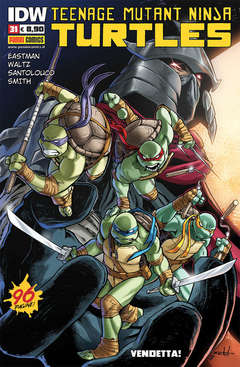 Copertina TEENAGE MUTANT NINJA TURTLES n.31 - TEENAGE MUTANT NINJA TURTLES, PANINI COMICS