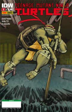 Copertina TEENAGE MUTANT NINJA TURTLES n.1 - Cover A, PANINI COMICS