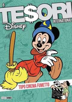 Copertina TESORI INTERNATIONAL n.8 - TESORI INTERNATIONAL, PANINI COMICS