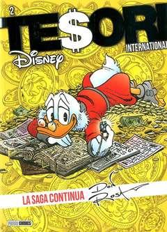 Copertina TESORI INTERNATIONAL n.2 - LA SAGA CONTINUA Ristampa, PANINI COMICS