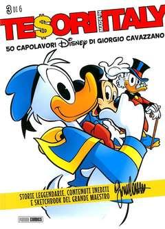 Copertina TESORI MADE IN ITALY n.3 - 50 CAPOLAVORI DISNEY DI GIORGIO CAVAZZANO, PANINI COMICS