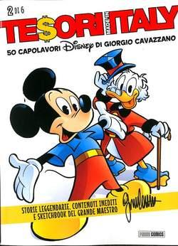 Copertina TESORI MADE IN ITALY (m6) n.2 - 50 CAPOLAVORI DISNEY DI GIORGIO CAVAZZANO, PANINI COMICS
