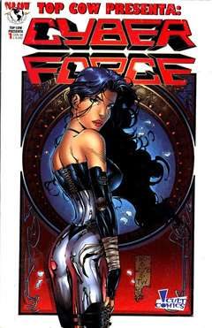 Copertina TOP COW PRESENTA M10 n.1 - CYBERFORCE, PANINI COMICS