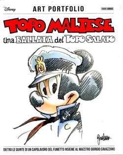 Copertina TOPO MALTESE n.1 - UNA BALLATA DEL TOPO SALATO, PANINI COMICS
