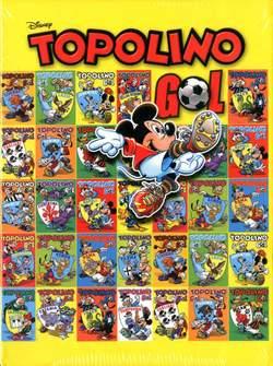 Copertina TOPOLINO GOL n. - Cofanetto TOPOLINO GOL, PANINI COMICS