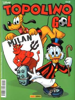 Copertina TOPOLINO GOL n.2 - MILAN, PANINI COMICS
