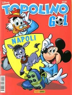 Copertina TOPOLINO GOL n.3 - NAPOLI, PANINI COMICS