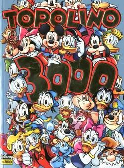 Copertina TOPOLINO LIBRETTO n.3000 - TOPOLINO LIBRETTO Variant Cover Gold, PANINI COMICS