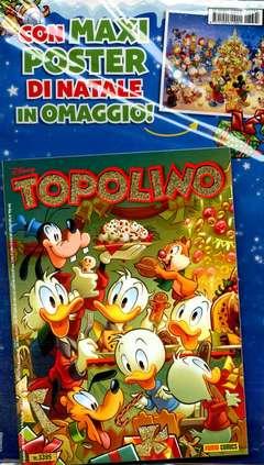 Copertina TOPOLINO LIBRETTO CON ALLEGATI n.3395 - CON MAXI POSTER, PANINI COMICS
