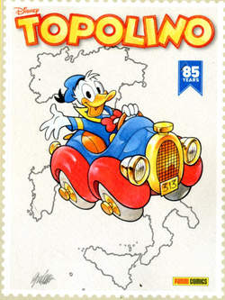 Copertina TOPOLINO LIBRETTO PANINI Var. n.3336 - Variant Cover, PANINI COMICS