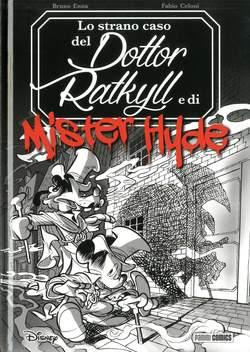 Copertina TOPOLINO LIMITED DE LUXE EDITION n.1 - LO STRANO CASO DEL DOTTOR RATKYLL E MISTER HYDE, PANINI COMICS