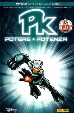 Copertina TOPOLINO LIMITED DE LUXE EDITION n.2 - PK: POTERE E POTENZA ristampa, PANINI COMICS