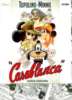 """Copertina TOPOLINO SUPER DELUXE EDITION n.1 - TOPOLINO-MINNI IN """"CASABLANCA"""", PANINI COMICS"""