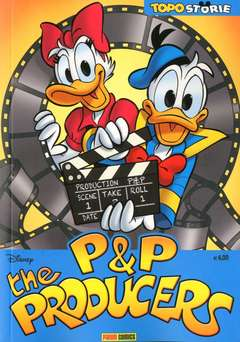 Copertina TOPOSTORIE n.13 - P&P THE PRODUCERS, PANINI COMICS