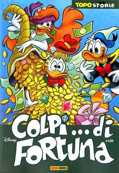 Copertina TOPOSTORIE n.34 - COLPI...DI FORTUNA, PANINI COMICS