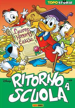 Copertina TOPOSTORIE n.5 - RITORNO A SCUOLA, PANINI COMICS