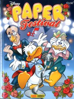 Copertina TUTTO DISNEY n.70 - Paper Festival, PANINI COMICS