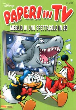 Copertina TUTTO DISNEY n.77 - PAPERI IN TV, PANINI COMICS