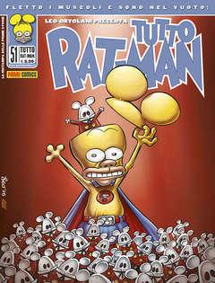 Copertina TUTTO RAT-MAN n.51 - TUTTO RAT-MAN, PANINI COMICS