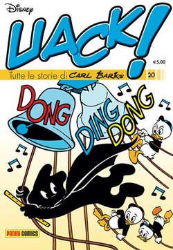 Copertina UACK! n.20 - TUTTE LE STORIE DI CARL BARKS, PANINI COMICS