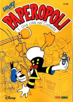 Copertina UACK! n.24 - PAPEROPOLI, PANINI COMICS