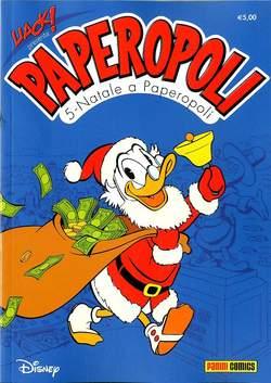 Copertina UACK! n.28 - NATALE A PAPEROPOLI, PANINI COMICS