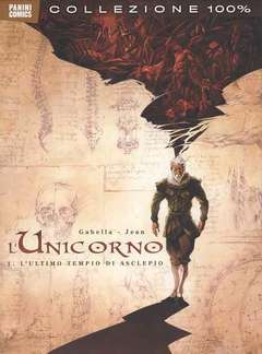 Copertina UNICORNO 100% PANINI COMICS n.1 - L'UNICORNO, PANINI COMICS