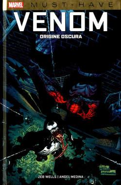 Copertina VENOM ORIGINE OSCURA n. - ORIGINE OSCURA, PANINI COMICS