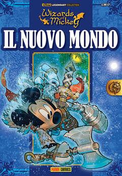 Copertina WIZARDS OF MICKEY n.6 - IL NUOVO MONDO, PANINI COMICS