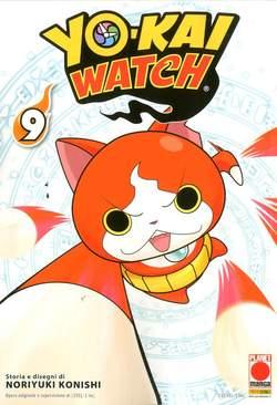 Copertina YO-KAI WATCH n.9 - MONSTERS 9, PANINI COMICS