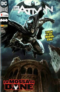 Copertina BATMAN n.1 - BATMAN, PANINI DC