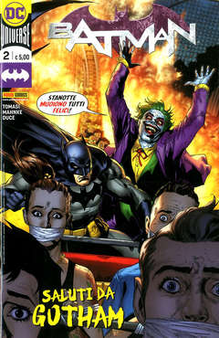Copertina BATMAN n.2 - BATMAN, PANINI DC