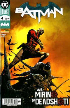 Copertina BATMAN n.4 - BATMAN, PANINI DC