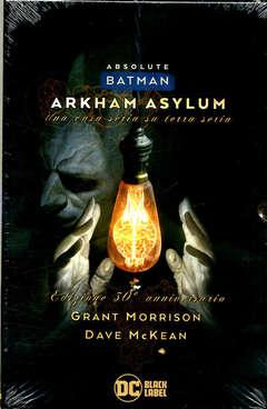 Copertina BATMAN ARKHAM ASYLUM n. - ARKHAM ASYLUM + Cofanetto, PANINI DC