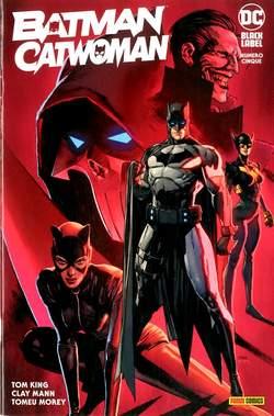 Copertina BATMAN/CATWOMAN n.5 - BATMAN/CATWOMAN, PANINI DC