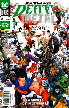 Copertina BATMAN DEATH METAL MIXTAPE m3 n.3 - BATMAN DEATH METAL MIXTAPE, PANINI DC