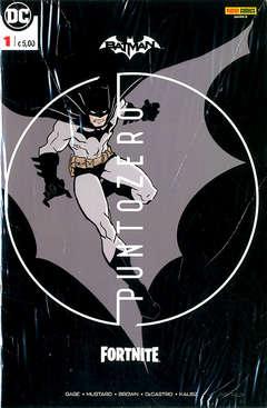 Copertina BATMAN FORTNITE Prem.Var. (m6) n.1 - PUNTO ZERO, PANINI DC