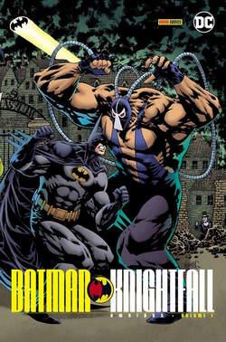 Copertina BATMAN KNIGHTFALL n.1 - BATMAN: KNIGHTFALL, PANINI DC