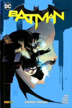 Copertina BATMAN Rebirth Collection n.8 - GIORNI FREDDI, PANINI DC