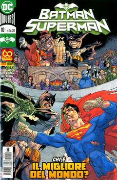 Copertina BATMAN/SUPERMAN n.10 - BATMAN/SUPERMAN, PANINI DC