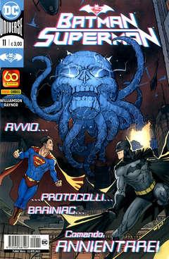 Copertina BATMAN/SUPERMAN n.11 - BATMAN/SUPERMAN, PANINI DC