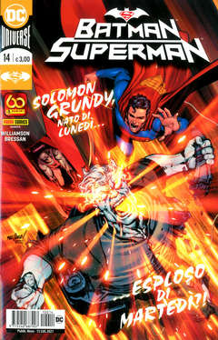 Copertina BATMAN/SUPERMAN n.14 - BATMAN/SUPERMAN, PANINI DC