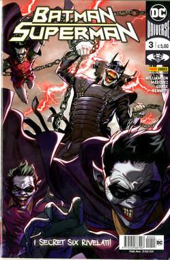 Copertina BATMAN/SUPERMAN n.3 - BATMAN/SUPERMAN, PANINI DC