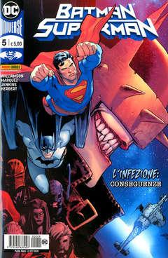 Copertina BATMAN/SUPERMAN n.5 - BATMAN/SUPERMAN, PANINI DC