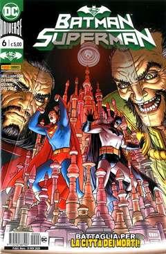 Copertina BATMAN/SUPERMAN n.6 - BATMAN/SUPERMAN, PANINI DC