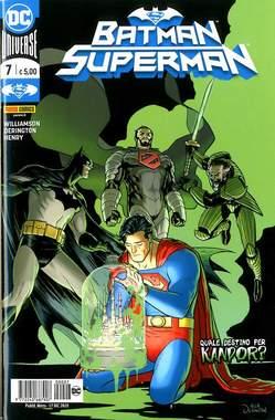 Copertina BATMAN/SUPERMAN n.7 - BATMAN/SUPERMAN, PANINI DC