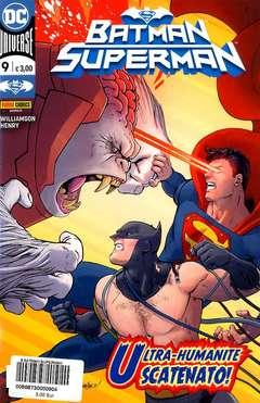 Copertina BATMAN/SUPERMAN n.9 - BATMAN/SUPERMAN, PANINI DC