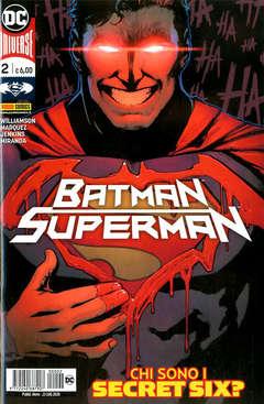 Copertina BATMAN/SUPERMAN n.2 - BATMAN/SUPERMAN, PANINI DC