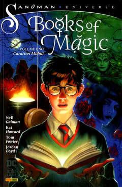 Copertina BOOKS OF MAGIC n.1 - CARATTERI MOBILI, PANINI DC